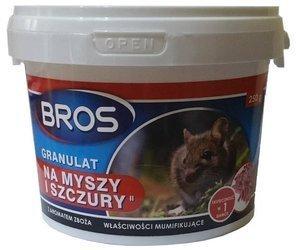 GRANULAT na myszy szczury 250g BROS