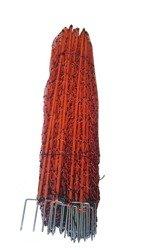 Siatka elektryczna dla drobiu 50m 112cm, pomarańczowa podwójny szpic