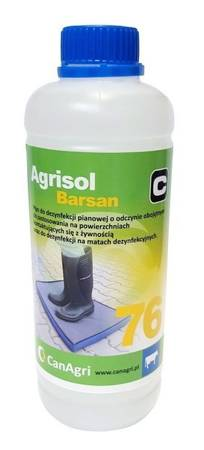Agrisol Barsan 76 - preparat do dezynfekcji obuwia, 0,9 kg