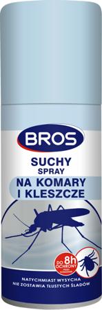 BROS SUCHY Spray na komary i kleszcze 90ml