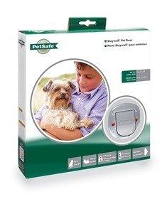 Drzwiczki STAYWELL dla dużego kota małego psa do 10kg Typ 270EF,  clear O