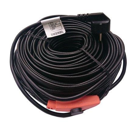 Kabel grzewczy przewód grzejny 37m termostat KERBL