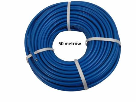 Kabel wysokiego napięcia 1,32mm 50 m miedziany 20,000V niebieski FISOL