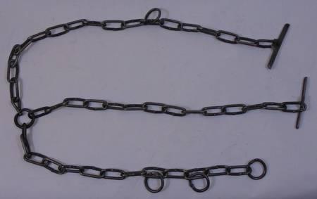 Łańcuch żłobowy fi 5mm