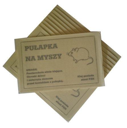 Lep na Myszy Biały KOMPLET /zestaw - 10szt./