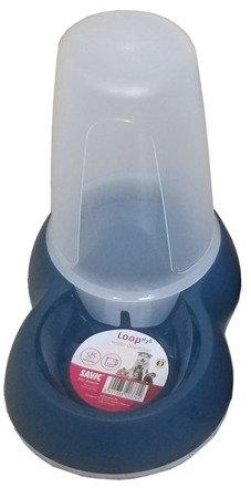 Miska dozownik na wodę 1,5l  Savic petrol niebieski NOWY LOOP