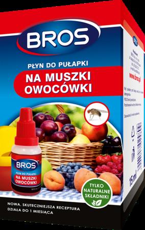 Płyn do pułapki na muszki owocówki Bros 15ml