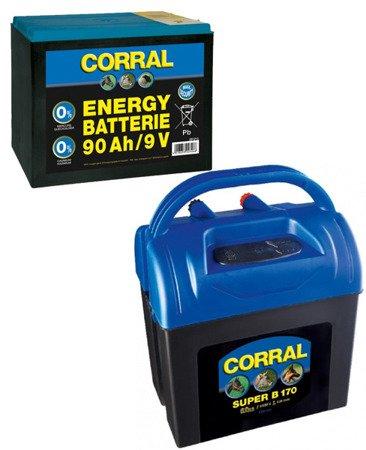 Zestaw elektryzator Corral B170  i bateria 90ah