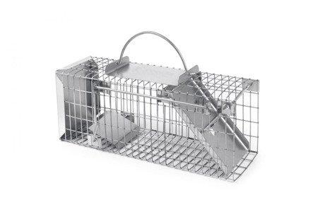 Żywołapka 1 wejściowa na szczury, łasice 12x14x36   S1